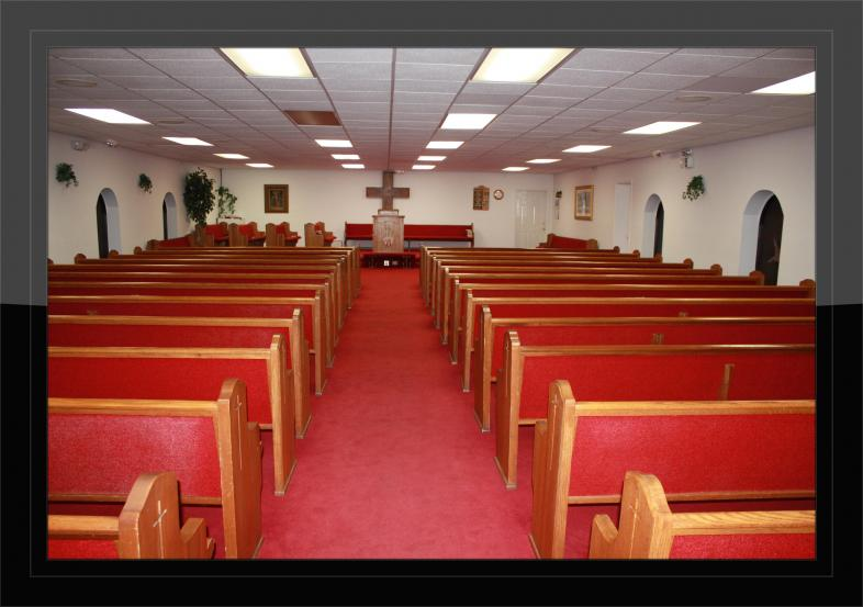 Inside Union United Baptist Church